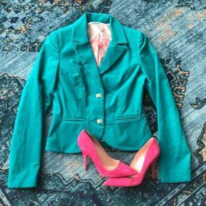|| 12th St. by Cynthia Vincent || velvet blazer